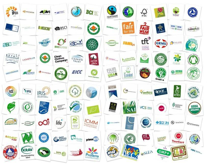 El International Trade Center (www.standardsmap.org) indica que existen más de 450 estándares de certificación que se aplican a diferentes tipos de productos y servicios en todo el mundo. Debido a ello, las empresas de la cadena agroalimentaria se enfrentan a menudo con la necesidad de certificar un estándar de sustentabilidad sin contar, muchas veces, con la información necesaria para implementar los cambios necesarios que les permita obtener el sello.