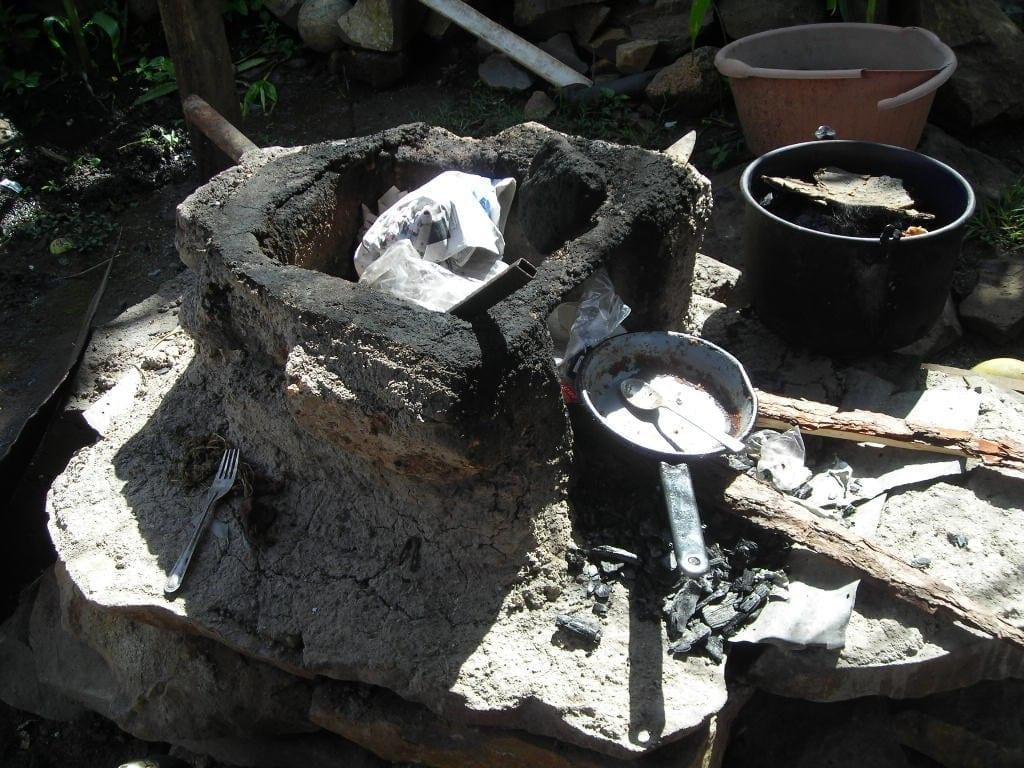 Cocina en Monte de los Olivos, Honduras)